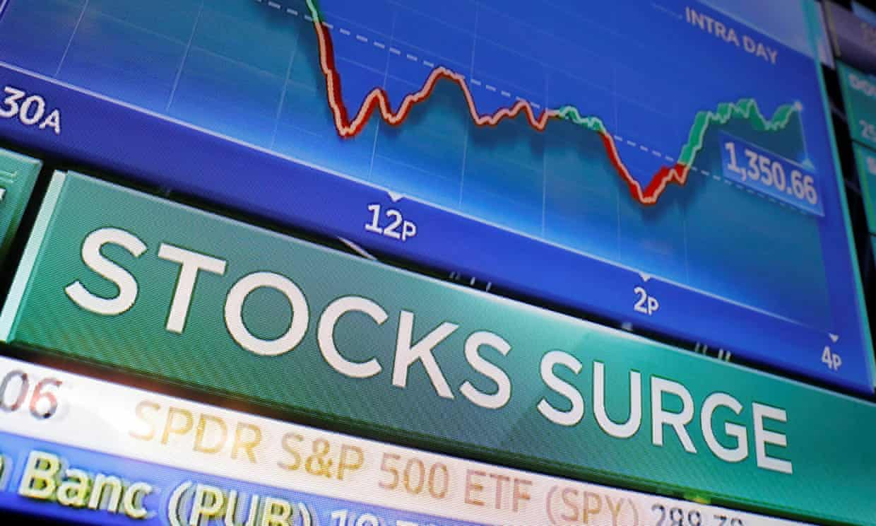 Wall Street rebounds from Crash Monday despite recession fears – as it happened