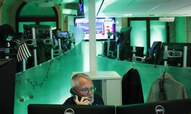 Markets slide despite government stimulus pledges to fight Covid-19 recession – business live