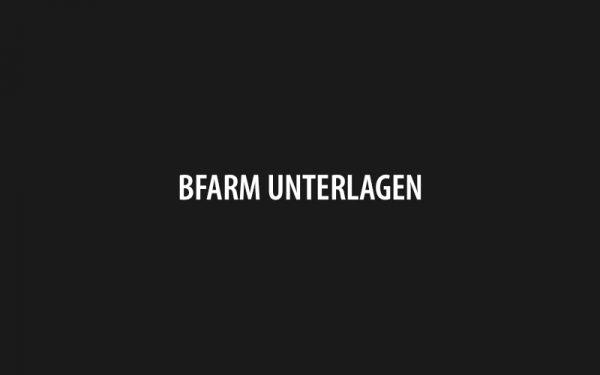 BfArM Unterlagen